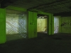 9 13 Corridor with projection on wall, floor and textile